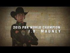WINNING RIDE: J.B. Mauney rides Bruiser for 92.75 points (PBR) - YouTube