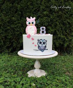 Cute owls by Cakes by Evička