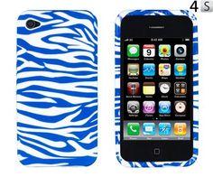 Blue Zebra Striped Flexible TPU Gel Case for Apple iPhone 4, 4S (AT, Verizon, Sprint) by 24/7 Cases, http://www.amazon.com/dp/B006ANVXE8/ref=cm_sw_r_pi_dp_GpDfqb088CXV8