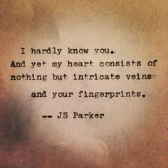 #typewriter #fingerprints #poem