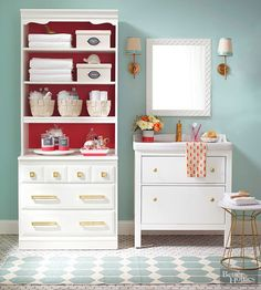 Get inspired to create your own personal storage area for any room in your home with these crafty ideas. These storage containers are unique, budget-friendly and functional. Revamp some old furniture or hit the flea market for these fun finds that can look stunning in your home with a little creativity!