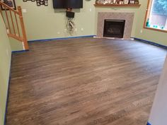 2 1 4 Red Oak Hardwood Stained With Bona Drifast