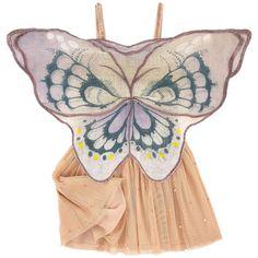 Stella McCartney Kids - Robe papillon en tulle et sequins - 151988