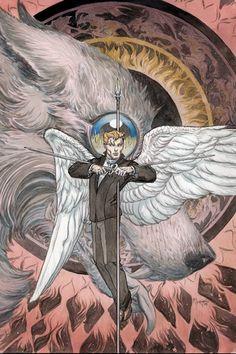 Lucifer Vertigo - Lord Of Darkness - Angel Of Light - Rebel - Fallen One - Michael Kaluta Horror Comics, Marvel Comics, Vertigo Comics, Modern Magic, Comic Art Community, Dc Comics Characters, Morning Star, Dark Lord, American Comics