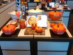 October Le Creuset Signature Stores