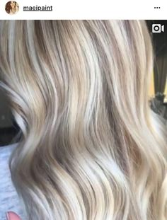 Blonde highlights & lowlights = LOVE