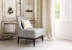 Romo Designer Fabrics & Wallcoverings, Upholstery I Available at TOWN. O Design, Interior Design, Romo Fabrics, Upholstery Fabrics, Rice Paper, Fabric Wallpaper, Drapes Curtains, Wingback Chair, Fabric Design
