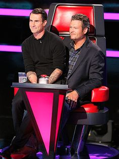 The Voice: Blake Shelton and Adam Levine Fight for the Best Singers
