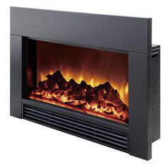 """Dynasty Fireplaces 30"""" Electric Fireplace Insert"""