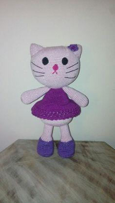 """Häkeln-Crochet """"Kitty"""""""