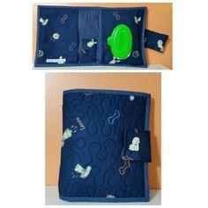 Porta fraldas , creme e lenços umidecidos by Lu Buluka.