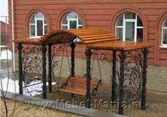 Imagini pentru садовые качели кованые