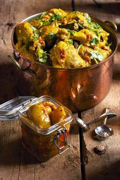 Indiese hoenderkerrie   SARIE   Indian chicken curry