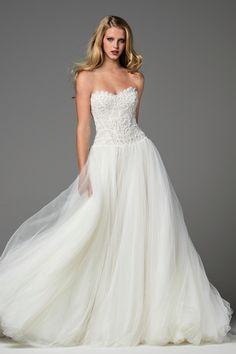 Watters Marlia wedding gown
