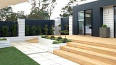 Use greenery & shrubs to add drama in your outdoor area - Mitre 10
