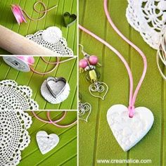Yenna B. Diy And Crafts, Crafts For Kids, Paper Crafts, Preschool Art Activities, Clay Art Projects, Mothers Day Crafts, Clay Creations, Flower Crafts, Jewelry Crafts