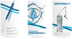 Lumenis Surgical technology brochures by Berliner Design. #medicalbrochures, #leavebehinds, #patientleaflets, #patientbrochures, #companybrochures, #medicalads, #medicalflyers,#technicalspecifications, #graphicdesign, #berlinerdesign