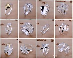 Jewelry Rings, Silver Jewelry, Jewelry Accessories, Silver Rings, 925 Silver, Jewellery, How To Make Rings, Rings N Things, Fashion Rings