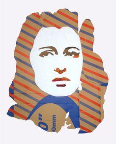 Anna Magnani   Work by Luigi De Simone
