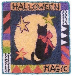 Halloween Magic Punchneedle