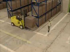 #Forklift Accident: Versus the Pedestrian