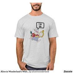 Alice in Wonderland's White Rabbit Running Disney T-Shirt Run Disney, Disney Theme, Disney Outfits, Alice In Wonderland, Create Your Own, Fitness Models, Rabbit, Running, Casual