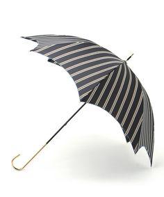 Mannish stripe 長傘(長傘) TIMELESS COMFORT(タイムレスコンフォート)のファッション通販 - ZOZOTOWN