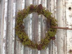 Heaven in Earth hand spun #Christmas #wreath spun from native Dodder