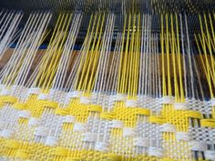 Ilse Acke: SOME THINGS YELLOW Weaving Textiles, Weaving Art, Weaving Patterns, Loom Weaving, Tapestry Weaving, Hand Weaving, Willow Weaving, Basket Weaving, Sampler Quilts