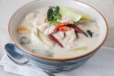 Recette soupe au lait de coco Thaï