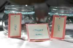 Name Suggestion Jar for Baby Shower - #BabyShower #ProjectNursery