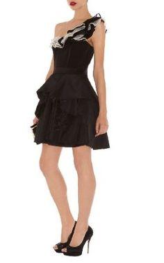 Karen Millen Organza Prom Dress : Autumn Winter 2012