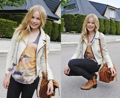 Shirt, Jacket, Bag