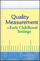 The most comprehensive resource on measuring quality in both home- and center-based settings, this book brings together a who's who of early childhood experts to establish what's working in quality measurement and how it can be strengthened to support better programs and optimal child development. Readers will have the knowledge base they need to strengthen their quality measurement—so they can be sure their programs lead to positive outcomes and get children ready for school success.
