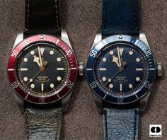 "Photo manipulation : Tudor Black Bay with a blue ""gilt"" dial..."