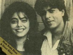 Old-Gold: ★★★ The most beautiful couple ► Shah Rukh Khan & #Gauri ★★★