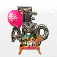 Candy Bouquet, Balloons, Drawings, Happy, Gifts, Ideas Para, Box, 4 H, Vestidos
