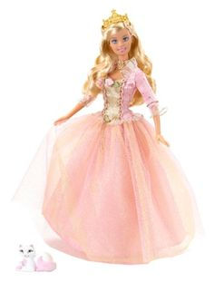 Fashion Doll: Barbie As Princess Annaliese *** Click image for more details.