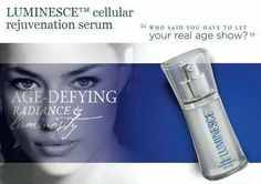 Who said you have to let your real age to show? www.allaboutyourbeauty.jeunessglobal.com
