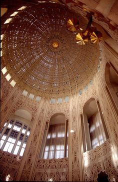 Ceiling Bahia Temple in Willamette, Illinois religious places inspiration