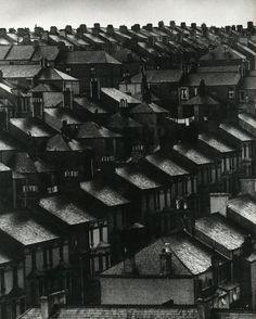 Bill Brandt - Sky lightens over the suburbs, London, 1934