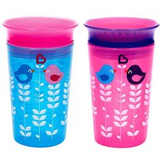 Munchkin Miracle 360 Sippy Cup, Pink/Blue, 2 Count Munchkin https://www.amazon.com/dp/B01ABQBJDE/ref=cm_sw_r_pi_dp_L.XwxbGJ9T082