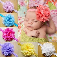 Baby Toy Gift Sets - 10PCS Lace Flower Kids FEITONG Baby Headband Hair Band Headwear *** To view further for this item, visit the image link.
