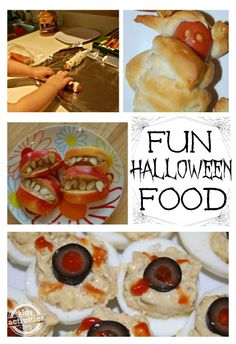 {Halloween Menu} Lots of Halloween Food!