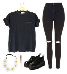 """""""Untitled #1466"""" by chill-outfits ❤ liked on Polyvore featuring Topshop"""