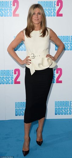 A true leading lady!Jennifer Aniston turned heads when she attended a photocall for Horrible Bosses 2 at the Corinthia Hotel in London on Thursday