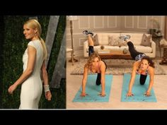 I love Tracy Anderson's workouts! Shedding the pounds and toning doing The Method seems attainable, no?  Gwyneth Paltrow's Butt Exercise Moves From Tracy Anderson - YouTube