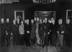 Gabinete de Hitler en 1933 una vez nombrado canciller