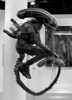Original Xenomorph Suit - by H.R. Giger, 1978