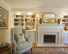 Fireplace Book Shelf Design, Pictures, Remodel, Decor and Ideas - page 2